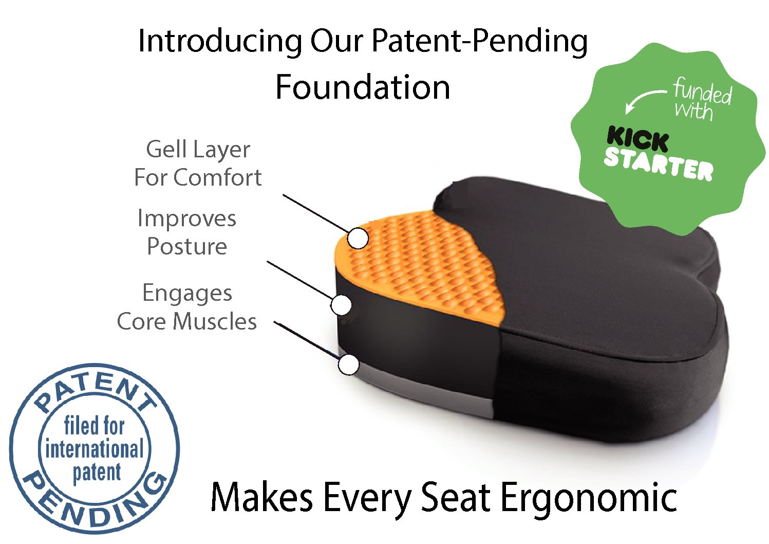 Portable Posture Correction Seat