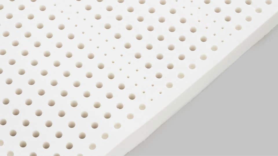 natural latex foam that has an odour